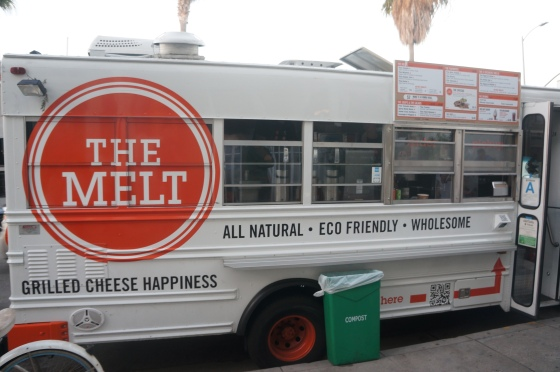 The Melt Truck in a School Bus