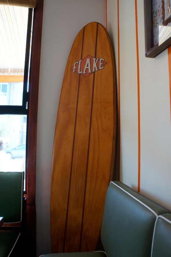 Surfboard Interior Decoration