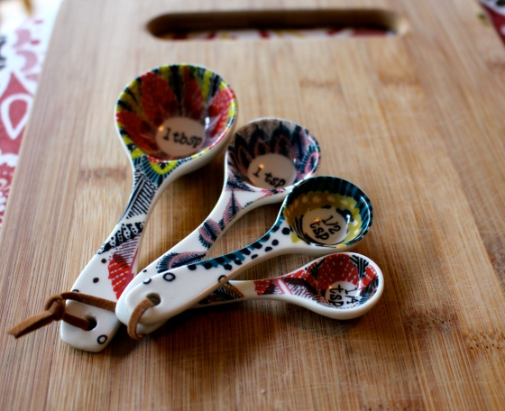 Pretty Measuring Spoons