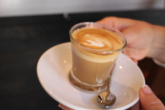 Espresso at Santa Catarina Market, Barcelona